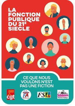 La Fonction Publique du 21ème siècle - Ce que nous voulons n'est pas une fiction