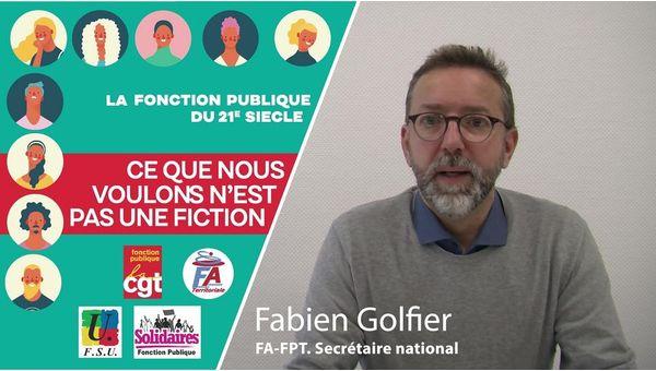 """Vidéo unitaire Fonction Publique - """"Ce que nous voulons n'est pas une fiction"""""""